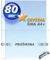 REDOLJUB U folija 80mic CRYSTAL PROŠIRENA A4+ 1/100