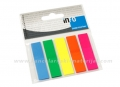 INFO NOTES page marker 12x44mm, 5 boja BRILLIANT