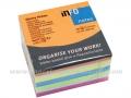 INFO NOTES 5654-53 samolepljivi blok 75x75 MIX kocka 1/450