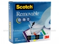 3M SCOTCH 811 REMOVABLE selotejp 19mm x 33m