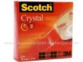 3M SCOTCH 600 CRYSTAL selotejp 19mm x 33m