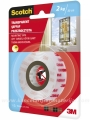 3M SCOTCH Mounting Tape 19mm x 1.5m TRANSPARENT