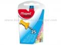 MAPED Office čiode za pluto tablu 1/25 mix