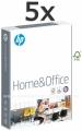 5 riseva HP HOME&OFFICE papira za kopiranje i štampu A4 80gr 500 lista