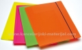FELLOWES Shocking File - PP fascikla sa gumicom mix 4 boje