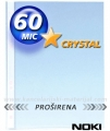 NOKI U folija 60mic CRYSTAL PROŠIRENA A4+ 1/100