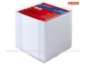 HERLITZ papirna kocka sa stalkom i BELIM papirićima (505924)
