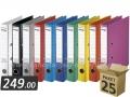25 registratora FORNAX PREMIUM uski PVC 55mm