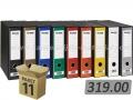 11 širokih registratora FORNAX PRESTIGE A4 D80 sa kutijom