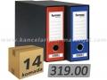14 malih širokih registratora FORNAX PRESTIGE A5 D80 sa kutijom