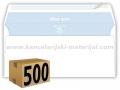 500 koverata PIGNA OFFICE STRIP ameriken BEZ PROZORA 110x230mm 80g (23200)
