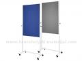 MAGNETOPLAN Universal Board 3 u 1 (flipchart tabla+whiteboard+pinboard)
