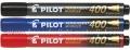 PILOT Permanent marker 400, kosi vrh