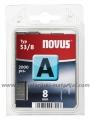NOVUS klamerice 53/8 Tip A, 1/2000