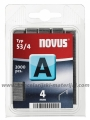 NOVUS klamerice 53/4 Tip A, 1/2000
