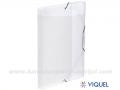 VIQUEL COOL BOX A4 Propyglass transparent bela