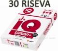 20 riseva MONDI IQ ECONOMY+ A4 fotokopir papira 80g 500 lista