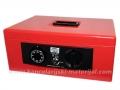 SR 63A kasa za novac  SA ALARMOM crvena 360x270mm