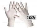 *Rukavice jednokratne - lateks sa puderom 1/100 veličina M ili L