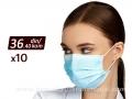 Jednokratna zaštitna maska PRO SAFE - pakovanje 10 komada (FFP2)
