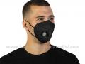 5 CRNIH višekratnih zaštitnih maski KN95 VENT sa ventilom (N95/KN95/FFP2) PM 2.5