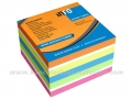 INFO NOTES 5654-53-PN samolepljivi blok 75x75 POWER NOTES BRILLIANT MIX sa posebno jakim lepkom 1/450