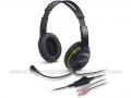 GENIUS HS-400A slušalice sa mikrofonom, zelene